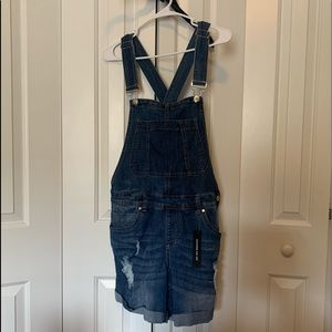 Charlotte Russe Overall Shorts